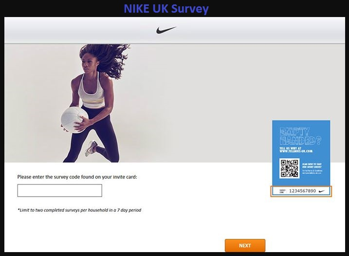 Nike UK Consumer Feedback Survey